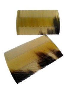 Pente de Osso para Caspa - 8cm X 4,8cm - Unidade