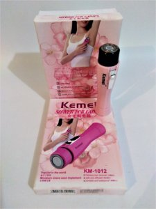 Depilador Feminino Kemei - KM 1012 - Shaver for Ladies