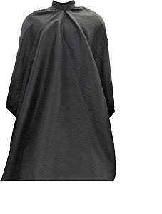 Capa de Corte em Tactel Cor Preta - Tam. Adulto (Grande)