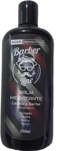Balm Hidratante Barber Line - Cabelo e Barba (240ml)