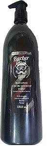 Shampoo Condicionador Barber Line 2 em 1 - Barba e Cabelo (1 Litro)