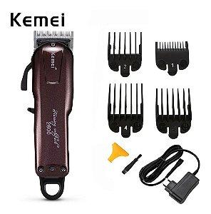 Kemei Sem Fio - Máquina de cortar Cabelo Professional - Lithium-Ion  - KM-2600 - Bivolt