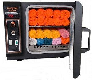 Aquecedor de Toalha para Barbearias Sterilifer (Digital/ 16 Toalhas) + Brinde Resfriador Chill (5 em 1)