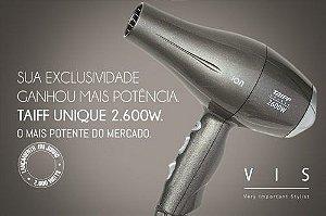 Secador Taiff Unique VIS 2600w / 220v - (GRÁTIS Resfriador Chill 5 em 1) - Delivery Grátis em São Paulo