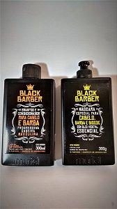 Kit Shampoo / Condicionador / Máscara Barba Cabelo e Bigode - Muriel Cosméticos - 300ml