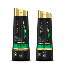 Seduction Professional S.O.S. Cachos Definidos  Shampoo (450ml) + Condicionador (450ml)