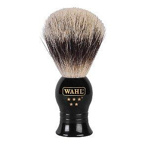 Pincel de Barbear com Pelos de Javali Wahl  Oficial