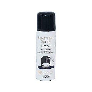 Retok Hair Spray - Retoque Instantâneo para Cabelo - Preto - Anaconda Cosméticos