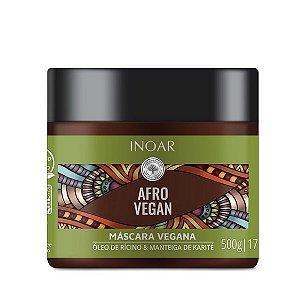 Máscara de Tratamento Inoar Afro Vegan - 500g