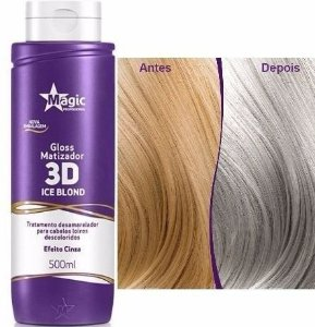 Magic Color Gloss Matizador 3D - Ice Blond - 500ml