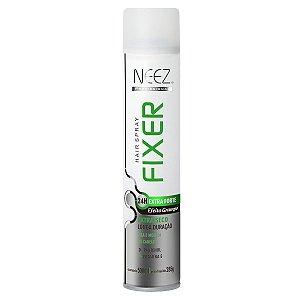Neez Profissional Hair Spray Fixer - Extra Forte Efeito Grampo 24h - 500ml