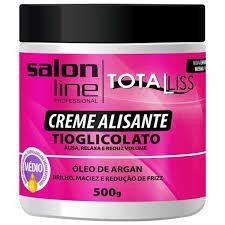 Creme Alisante Óleo de Argan -  Forte - 500g - Salon Line