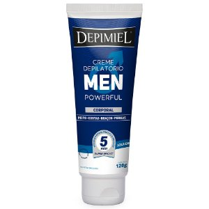 Creme Depilátorio Corporal Men Powerful - 120g - Depimiel
