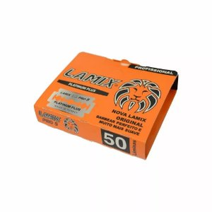 Lâmina Lâmix Platinum Plus - 5 Cartelas com 50 Lâmina Cada - Total 250 Lâminas