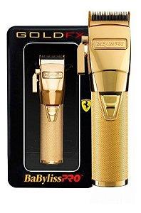 Máquina de Corte Babyliss PRO Gold FX Ferrari - Bivolt - Sem Fio / Com Fio - (GRÁTIS Resfriador Chill 5 em 1) - Delivery Grátis em São Paulo