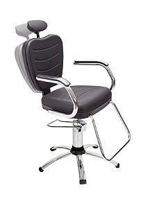 Cadeira Reclinável Hidráulica Top - Dompel - Ref. 3760