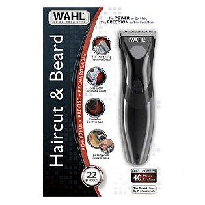 Máquina de Corte Wahl Haircut & Beard  - Barba, Cabelo e Pelos (Dois Anos de Garantia) - Bivolt