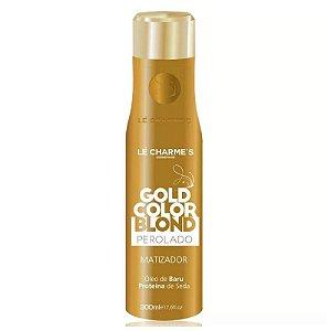 Matizador Gold Color Blond Perolado - Le Charme's - 300ml