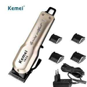 Máquina de Corte Profissional Kemei 1032 - Sem Fio (Ideal para Tricotomia)