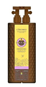 L'Osunrea Shampoo Mel & Óleo De Semente De Chá Hidratante - 800ml