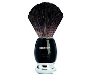 Pincel Para Barbear Böker - Chifre e Pelos de Texugo