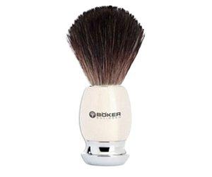 Pincel Para Barbear Böker - Osso e Pelos de Texugo
