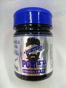 Pomada em Pó Mister Powder - 10g - Modela / Fixa / Volume Extra