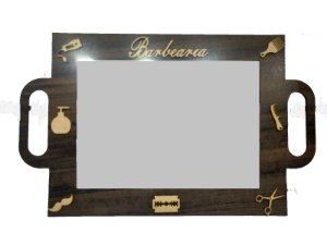 Espelho Decorativo para Barbearia