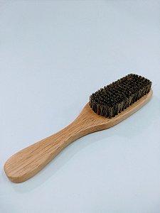 Escova para Barbearia - Cerdas Naturais - Importada - C33A
