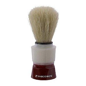 Pincel Para Barbear Marco Boni - Cerdas Mistas - Grande (ref. 1384B)