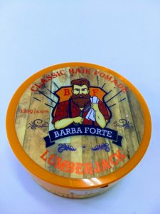 Classic Hair Pomade Lumberjack Barba Forte - 120g - Licensed by FELPS USA - 1 Unidade