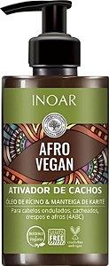 Ativador de Cachos Inoar Afro Vegan - 300ml