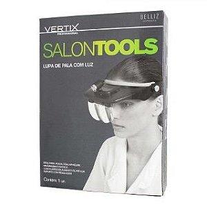 Lupa de Pala com Luz Vertix Salon Tools - Professional - Cod 3056