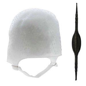 Touca de Silicone Dompel com Agulha - Ref 233 CA (Com agulha)