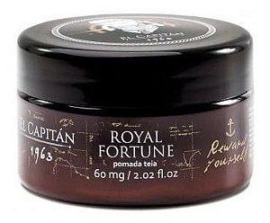Pomada Teia Royal Fortune - El Capitán 1963 -  Anvisa - 60g