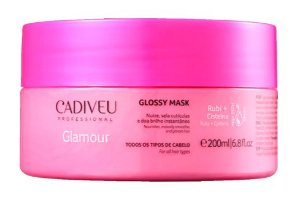 Máscara Cadiveu Glamour Rubi Glossy Mask 200ml