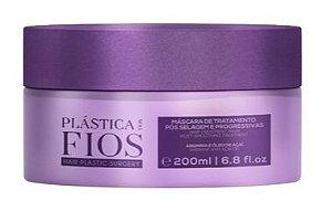 Máscara de Tratamento Cadiveu Plástica dos Fios - Pós Selagem e Progressiva (200ml)