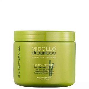 Máscara de Reconstrução Alfaparf Midollo di Bamboo Pro-Concentrate (500g)