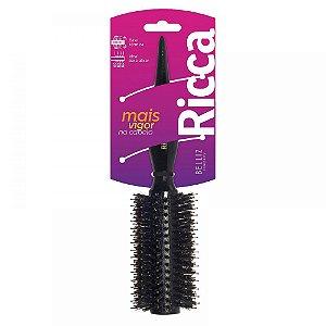 Escova para Cabelos em Madeira Ricca Black Porcupine 36 (ref.1398)