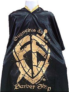 Capa de Corte em Cetim - Guerreiros da Fé - Tam. Adulto (Padrão) Disponível Cor Roxa