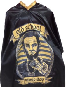 Capa de Corte em Cetim - Old School- Tam. Adulto (Padrão)