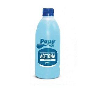 Removedor a Base de Acetona Popy Max Farmax 500ml