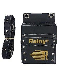 Coldre Rainy em Corino - 4 Tesouras e Espaço Extra (Com Cinto)