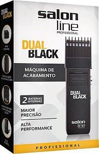 Máquina de Acabamento Salon Line Dual Black Sem Fio (Bivolt)