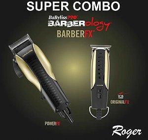 Super Combo Babyliss Barberology Barber FX (110V ou 220V) - Delivery Grátis em São Paulo