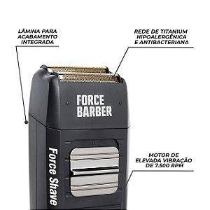 Máquina de Acabamento MQ Force Shave Black Bivolt
