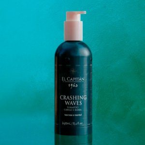 Shampoo Barba & Cabelo El Capitán 1963 - Crashing Waves (240ml)