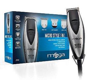 Máquina de Corte e Acabamento Mega Micro Style 3in1 - Bivolt - AT702BIV