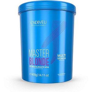 Cadiveu Master Blonde Pó Descolorante Azul - 400g