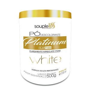 Souple Liss Pó Descolorante Platinum White 500g